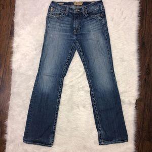 Big star pioneer bootcut jeans